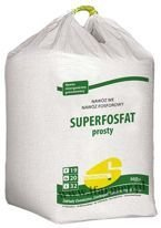 SUPERFOSFAT PROSTY GRANULOWANY 500kg (big bag)