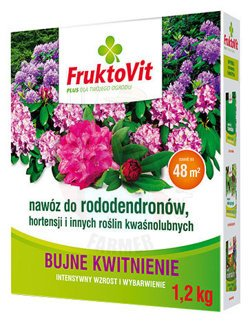 FruktoVit PLUS fertilizer for rhododendrons, hydrangeas and other acidophilic plants 1.2 kg