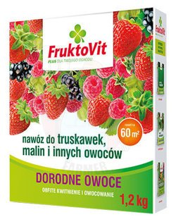 FruktoVit PLUS fertilizer for strawberries, raspberries and other fruits 1,2 kg