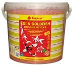 POKARM DLA RYB KOI & GOLDFISH COLOUR STICKS 5L